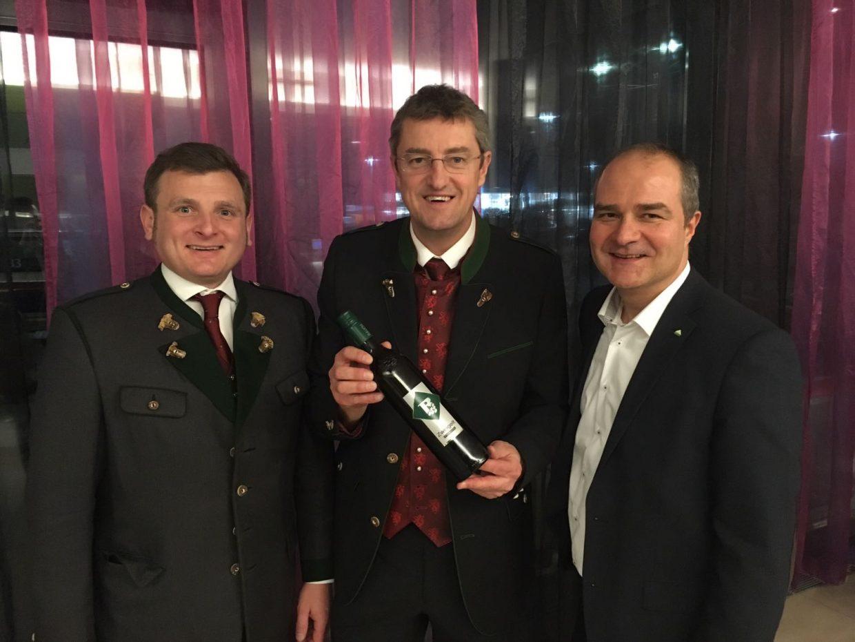 Gewinner der Ballweinverkostung für den Steirischen Bauernbundball
