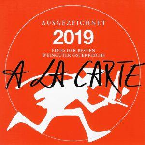 alacarte 2019 - Weinhof Rauch